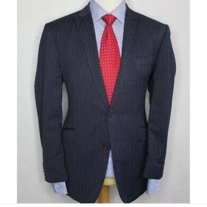 NWT Saville Row pinstripe suit jacket blazer 52R